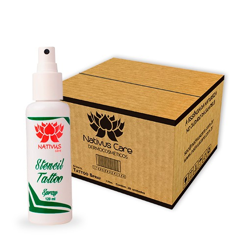 Stencil Spray 120ml Nativus Care - Cx C/20 Un