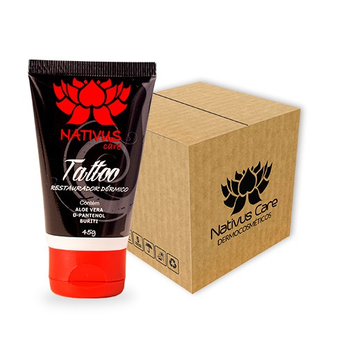 Restaurador Dérmico Buriti 45g Nativus Care - Tattoo - Cx C/20 Un